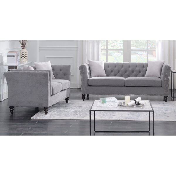 Schmucker 2 Piece Living Room Set by House of Hampton House of Hampton
