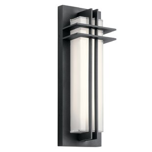 Online Reviews Heitz LED Outdoor Flush Mount By Bloomsbury Market