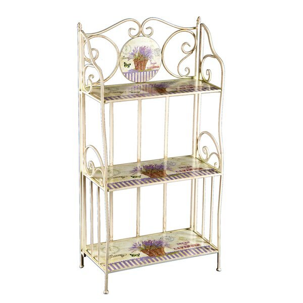 Lavender Etagere Bookcase by C&F Home