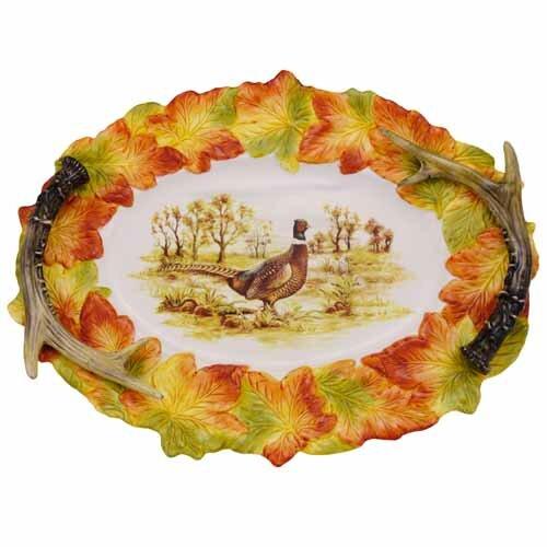 Hunt Harvest 17.5 Oval Platter by Kaldun & Bogle