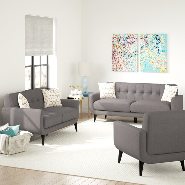 Tifton 3 Piece Living Room Set by Ivy Bronx