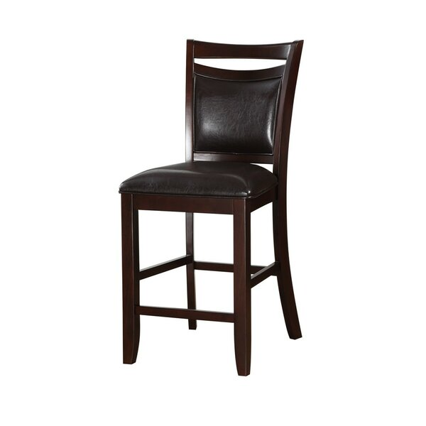 Holmgren Classic Wooden Armless 24 Bar Stool (Set of 2) by Charlton Home