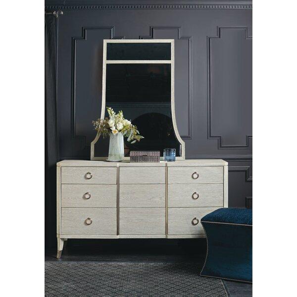 Domaine 9 Drawer Dresser with Mirror by Bernhardt