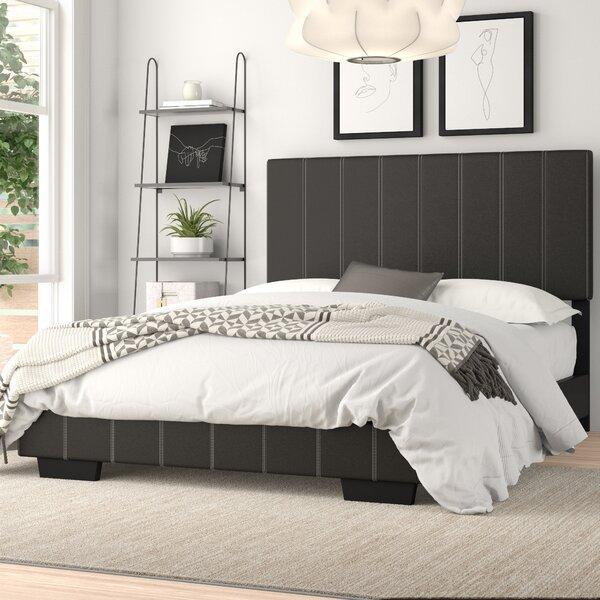 Yasmine Full/Double Upholstered Platform Bed by Zipcode Design