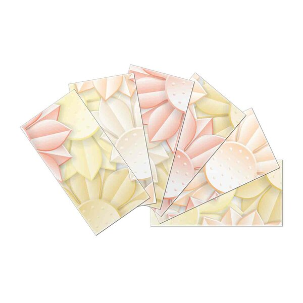 Crystal Skin 3 x 6 Glass Subway Tile in Light Pink by SkinnyTile