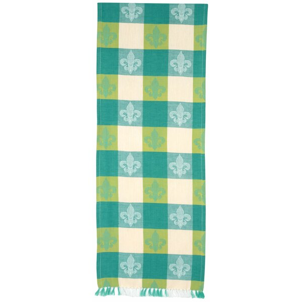 Haskins Fleur-De-Lis Table Runner (Set of 2) by Red Barrel Studio
