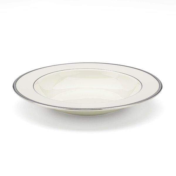 Tuxedo Platinum Pasta / Soup Bowl by Lenox
