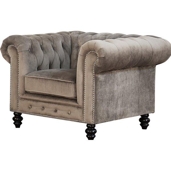 Brooklyn Chesterfield Chair by Mistana