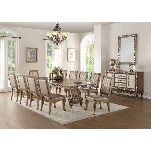 Patty 11 Pieces Extendable Dining Set by House of Hampton