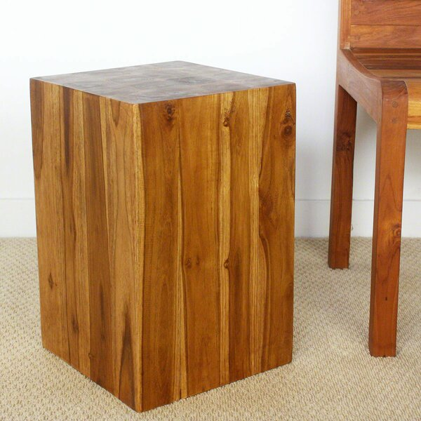 Lawless Block End Table by Union Rustic