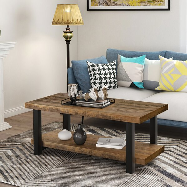 Ullrich Coffee Table With Storage By Union Rustic