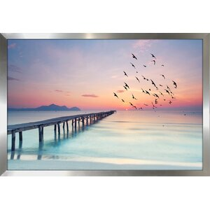 Ocean Skies 2 Framed Photographic Print by Picture Perfect International