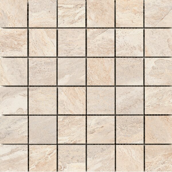Milestone 2 x 2 Porcelain Mosaic Tile in Dust by Emser Tile