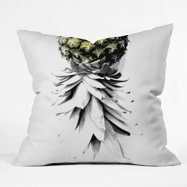Cervantez Pineapple 1 Outdoor Throw Pillow by Brayden Studio
