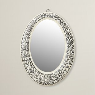 Mistana Traditional Oval Wall Mirror