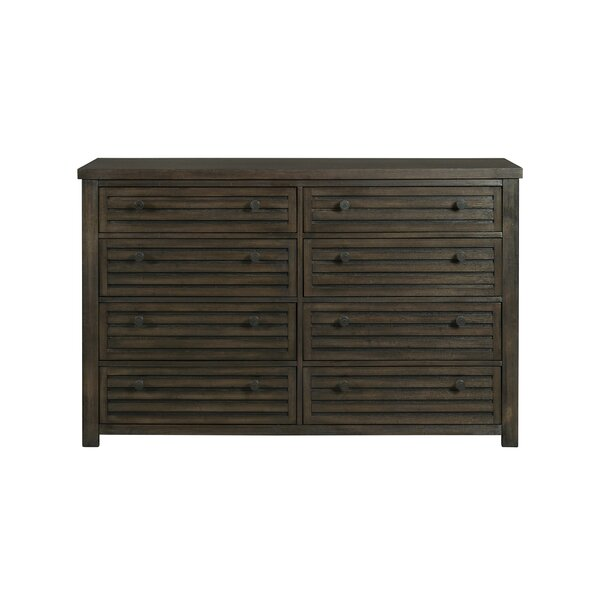 Panola 8 Drawer Double Dresser by Gracie Oaks