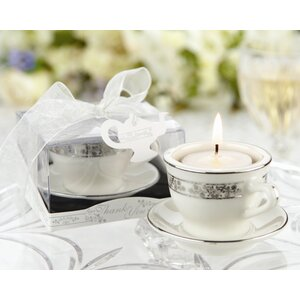 Teacup Miniature Tealight Holder (Set of 10)