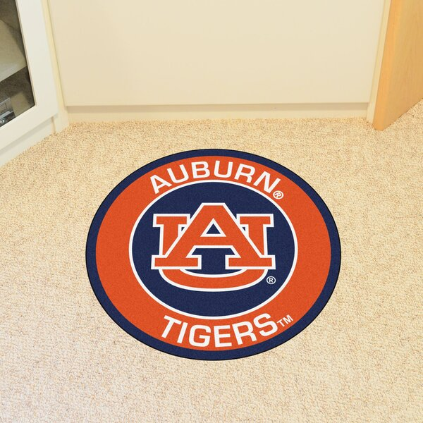 NCAA Auburn University Roundel Mat by FANMATS