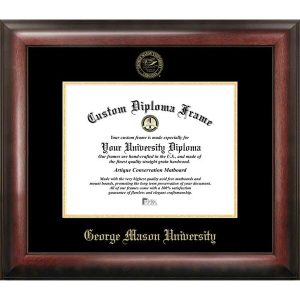 NCAA George Mason University Diploma Picture Frame by Campus Images