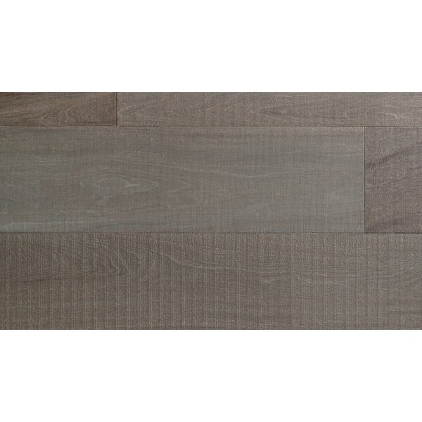 Peroba 7-3/4 Engineered Mahogany Hardwood Flooring in Gray by IndusParquet