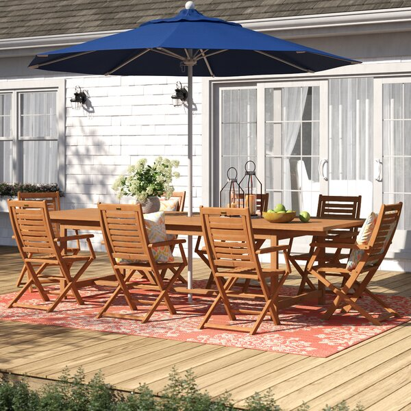 Brighton 9 Piece Dining Set by Sol 72 Outdoor