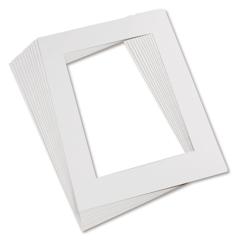 Pacon Creative Products Mat Frames 9 X 12 White & Reviews | Wayfair