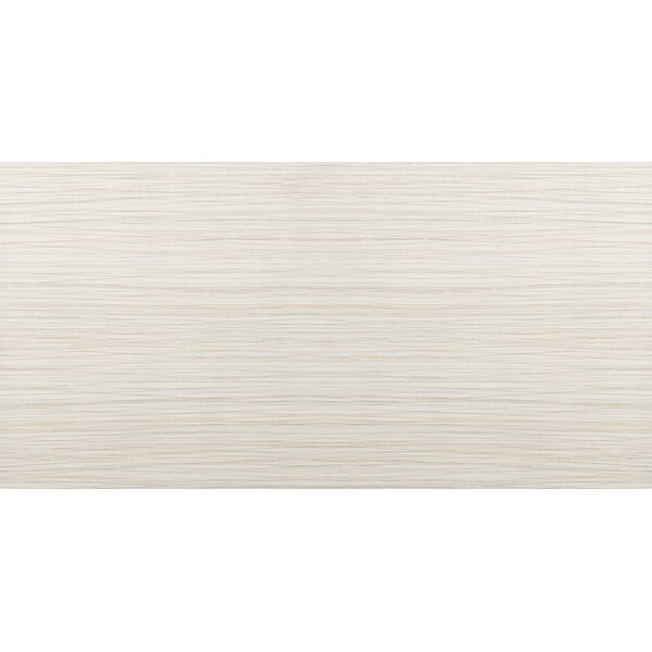 Thread 12 x 24 Porcelain Field Tile in Ivory by Emser Tile