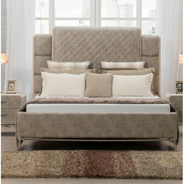 Liz Upholstered Platform Bed by Williston Forge