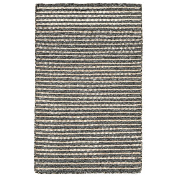 Blueridge Hand-Woven Charcoal Outdoor Area Rug by Highland Dunes