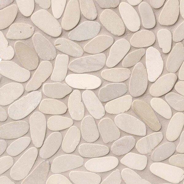 Sliced Earth Random Sized Marble Pebbles/Rocks Tile in Beige by MSI