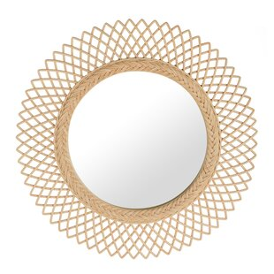 Rosecliff Heights Sunburst Round Decorative Accent Mirror