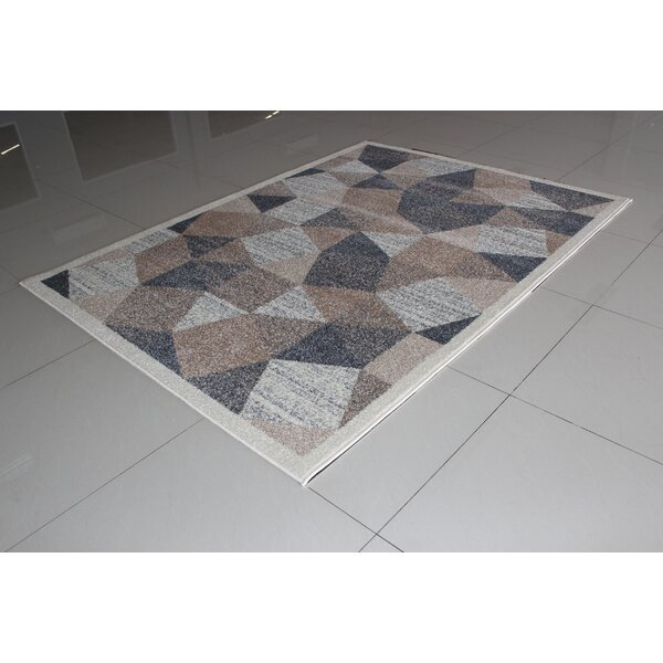 Mcgonigal Ivory/Gray Area Rug by Orren Ellis
