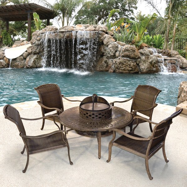 Watters 6 Piece Multiple Chairs Seating Group by Fleur De Lis Living