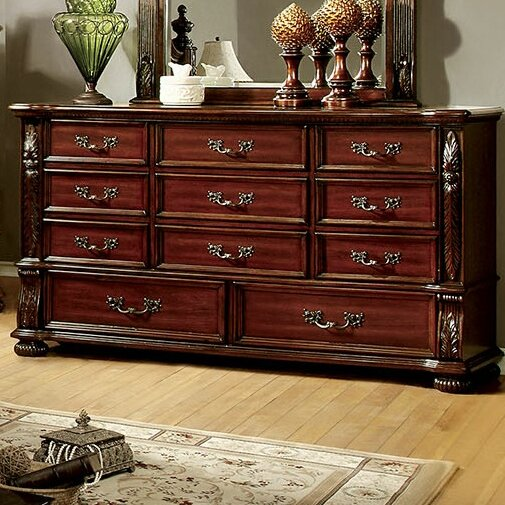 Glynda 11 Drawer Dresser by Three Posts