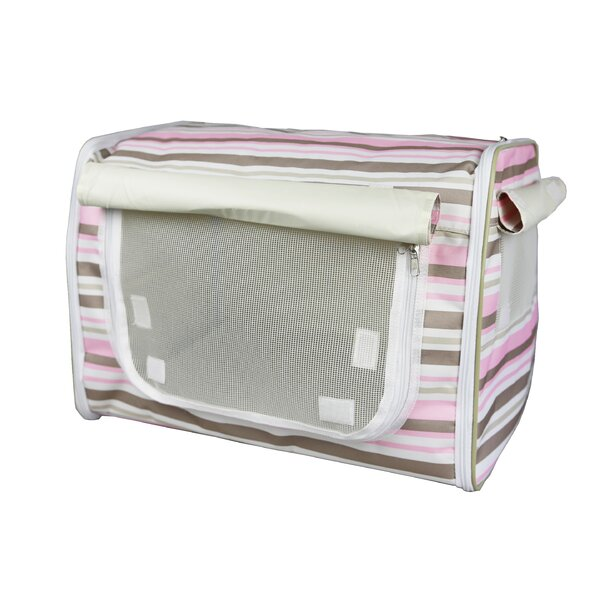 Lightweight Collapsible Zippered Easy Pet Crate by Pet Life