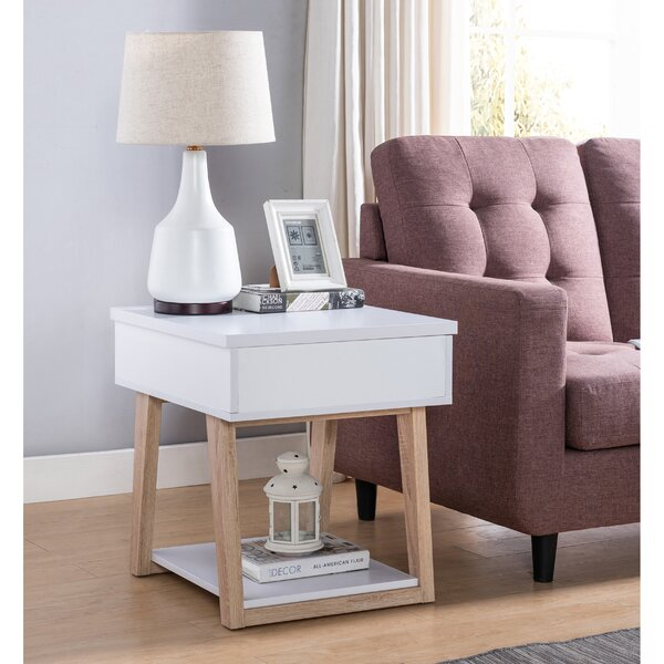 Skylark End Table With Storage By Latitude Run