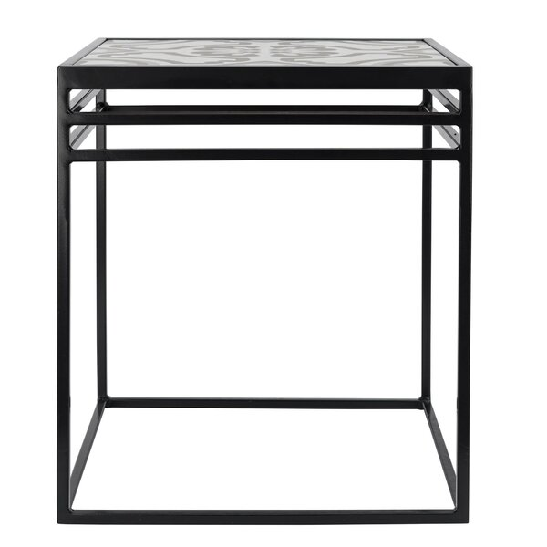 Whitlatch Ceramic Side Table by Symple Stuff Symple Stuff