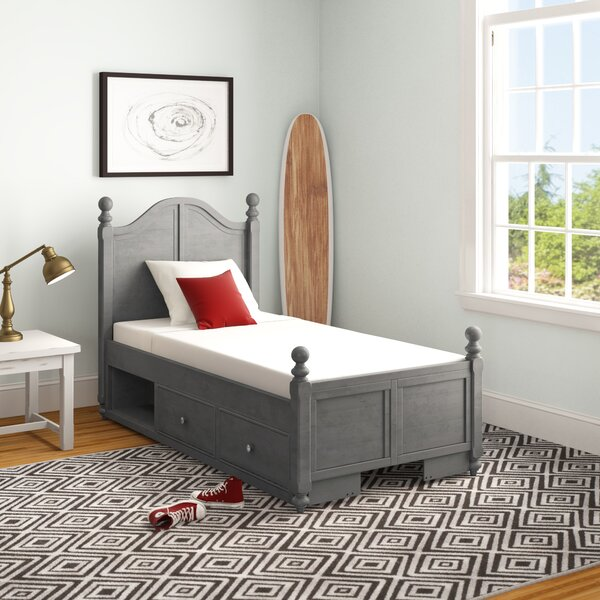 Nickelsville Twin Panel Bed by Three Posts