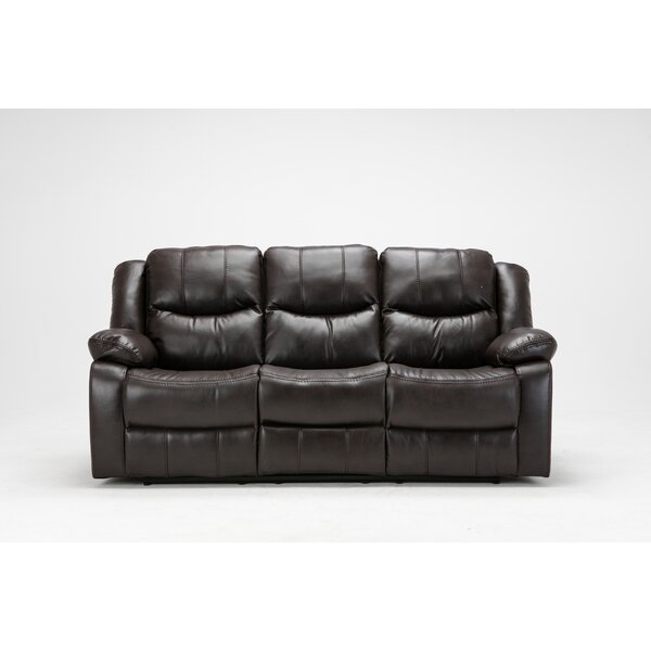 Madison Recliner Reclining Sofa by Noble House