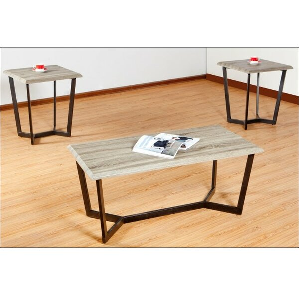 Reisman 3 Piece Coffee Table Set By Simmons Casegoods by Latitude Run