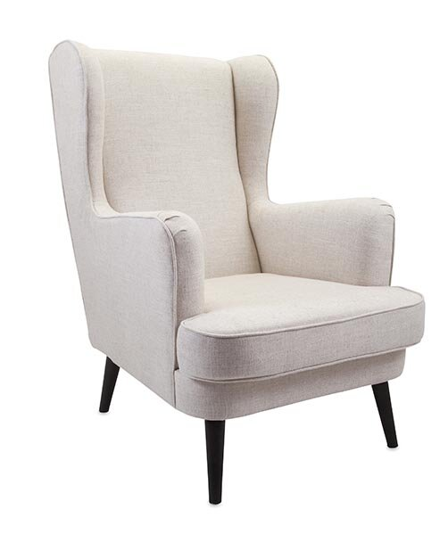 Knox Wingback Chair by Woodland Imports