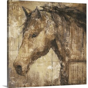 'Cavalier' by Liz Jardine Painting Print on Canvas by Great Big Canvas