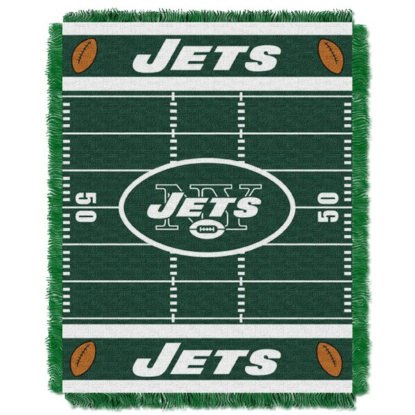 NFL Jets Field Baby Blanket by Northwest Co.