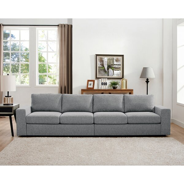 Price Comparisons Corrine Linen-Like Modular Sofa Snag This Hot Sale! 35% Off