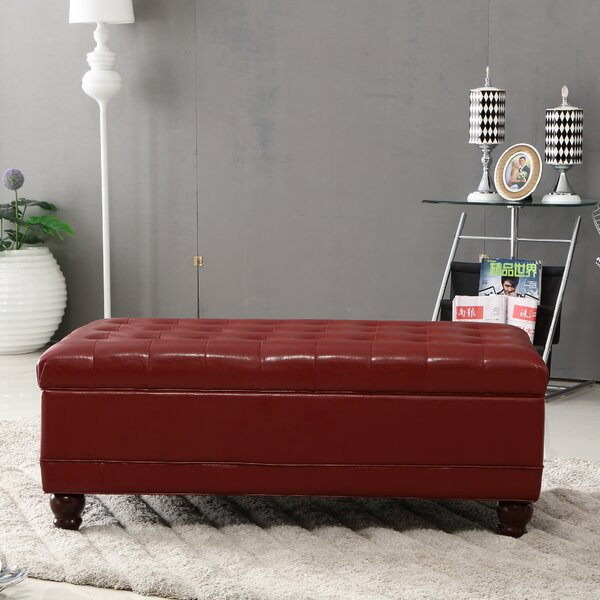 Elegant Storage Ottoman by Bellasario Collection
