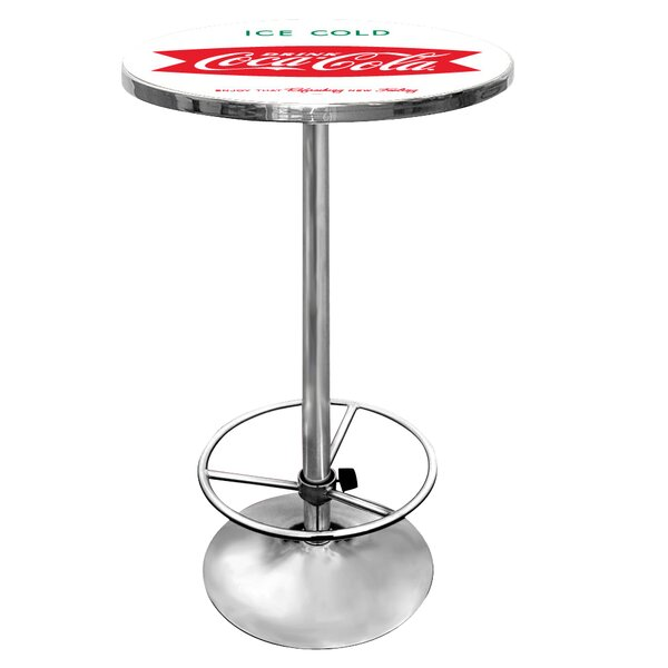 Amazing Coca Cola Pub Table II By Trademark Global No Copoun
