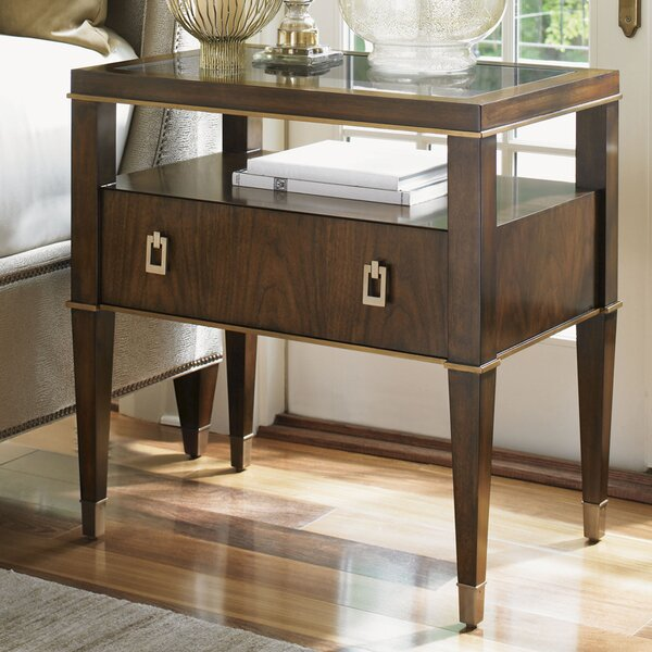 Tower Place 1 Drawer Nightstand by Lexington Lexington