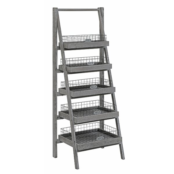 Velazco Angled Etagere Bookcase by Gracie Oaks