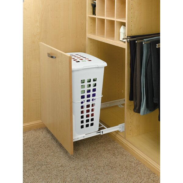Polymer Door Mount Pullout Hamper by Rev-A-Shelf