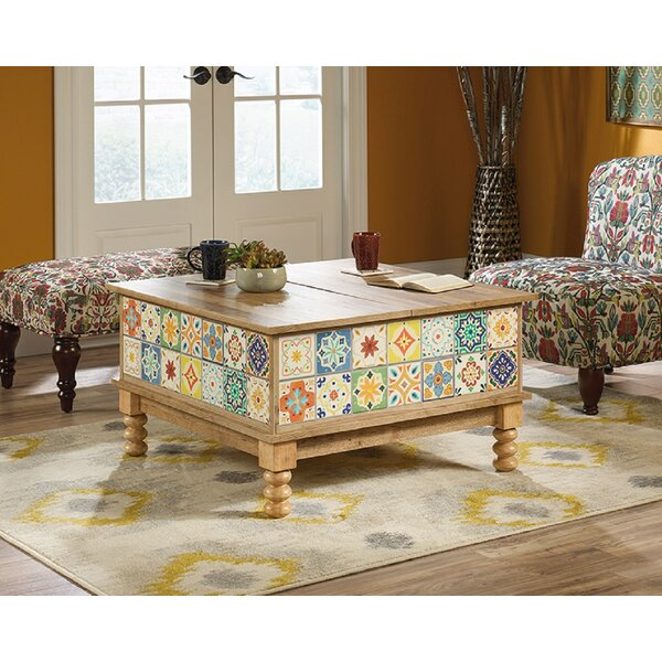 Rundell Coffee Table with Storage by Bungalow Rose Bungalow Rose
